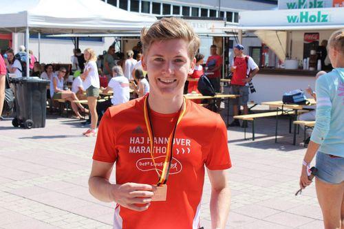 Maximilian Pingpank qualifiziert für ersten Länderkampf der U20