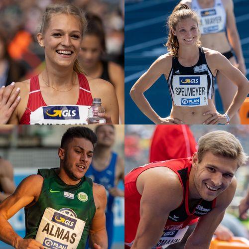 DLV nominiert 4 Niedersachsen für die World Athletics Relays in Polen