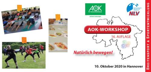 AOK-Workshop 2020: Wenige Restplätze!