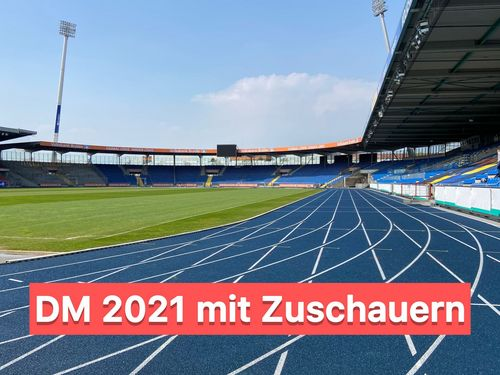 Grünes Licht für Zuschauermodell bei Leichtathletik-DM in Braunschweig