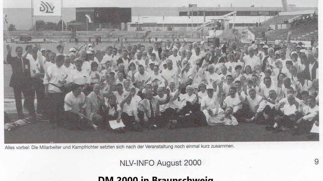 2000: DM in  Braunschweig
