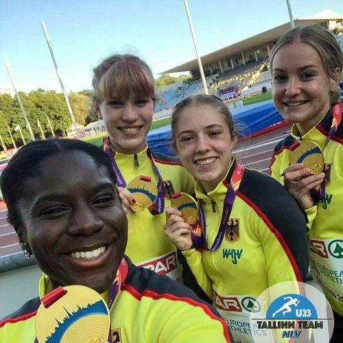 Zwei Medaillen für Niedersachsen bei der U23-EM