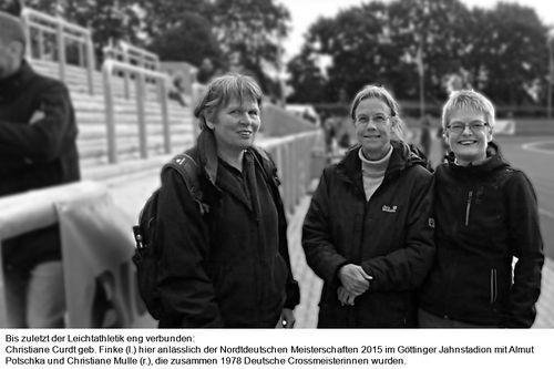 Trauer um Christiane Curdt geb. Finke