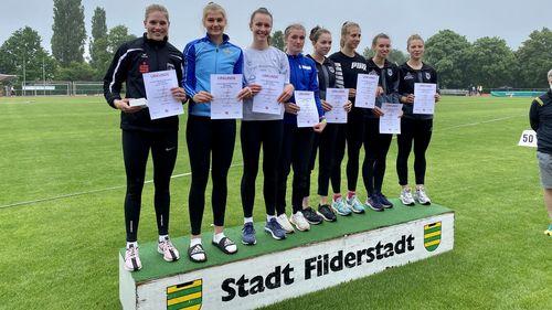 Marie Dehning und Lara Siemer knacken U20-EM-Norm im Siebenkampf