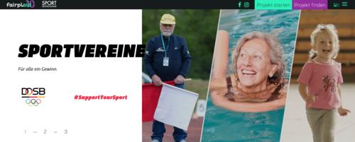 DOSB-Fördertopf: Rette Deinen Sportverein mit Crowdfunding über den Lockdown