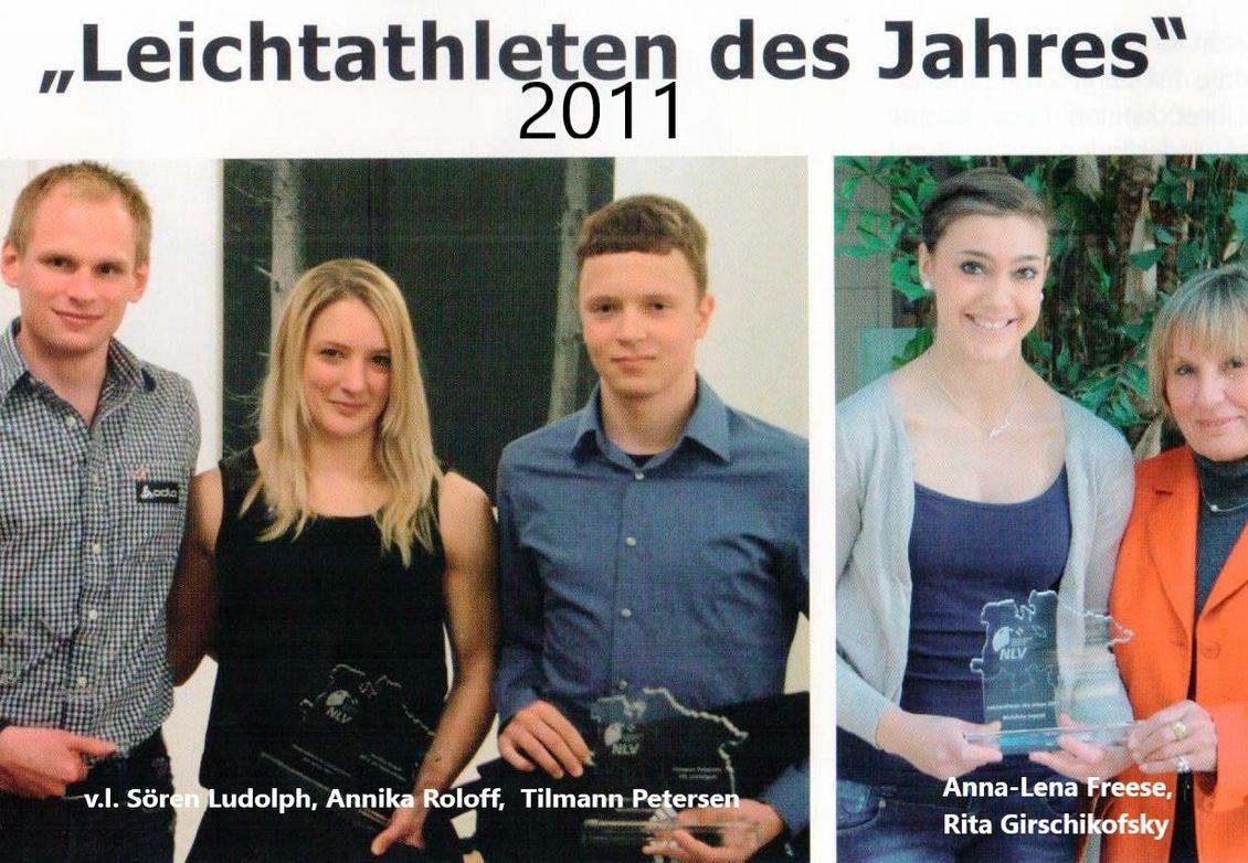 2011: NLV-Spotler des Jahres
