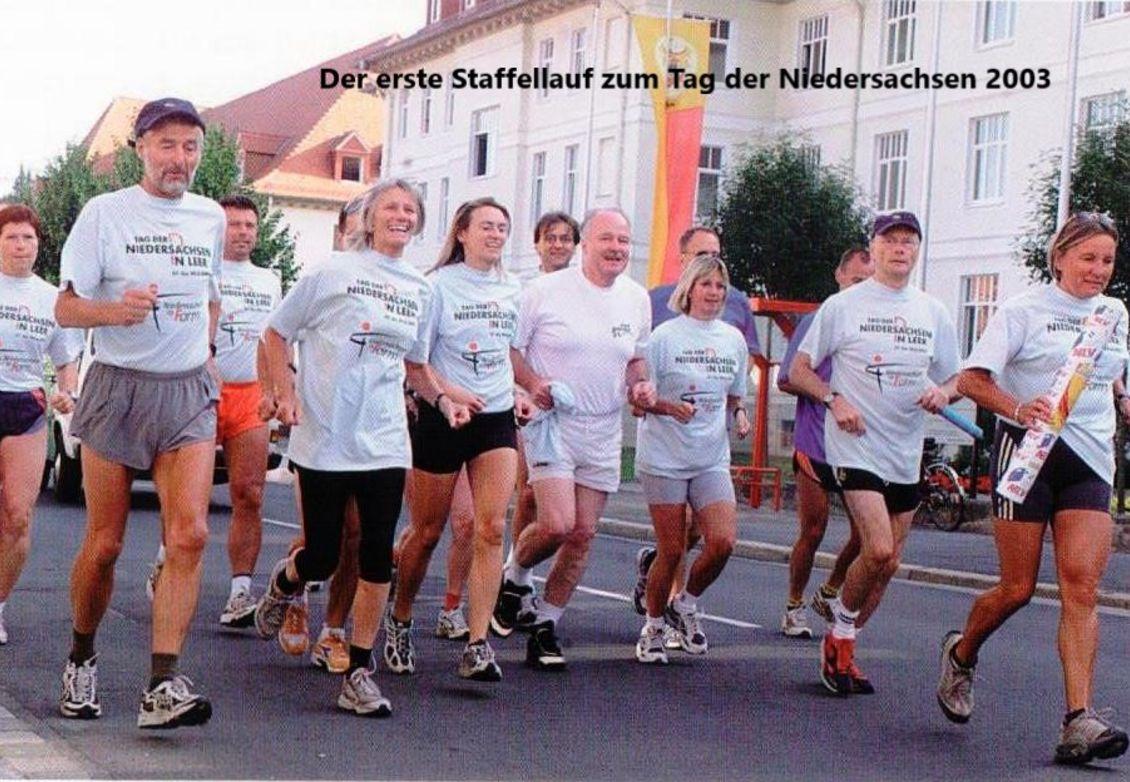 2003: Staffellauf zum Tag der Niedersachsen