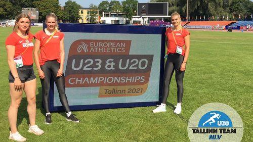 Marie Dehning holt Bronze bei der U20-EM