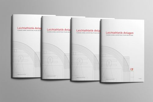 """Neuauflage der Broschüre """"Leichtathletik-Anlagen"""""""