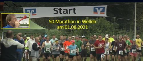 Marathon in Wellen hat Tradition