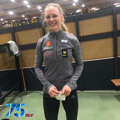 NLV holt zwei Medaillen bei Hallen-DM - Neele Eckhardt gelingt Titelverteidigung