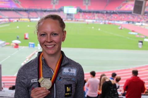 Neele Eckhardt wird deutsche Meisterin – Fabian Dammermann läuft EM-Norm